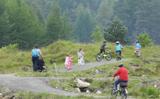 Strathfillan Community Bike Skills Park