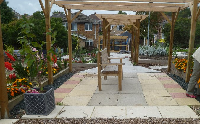 Owd Martha's  Yard Community Garden
