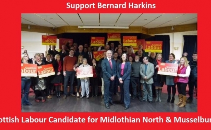 Bernard Harkins Labour for Mid Nrth and Muss 2016