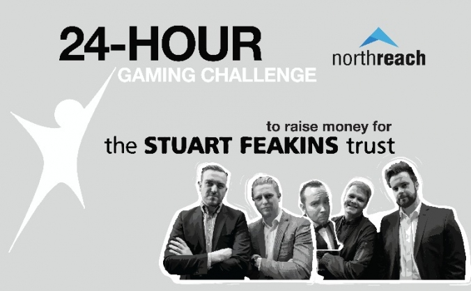 24-h Gaming Challenge for the Stuart Feakins Trust