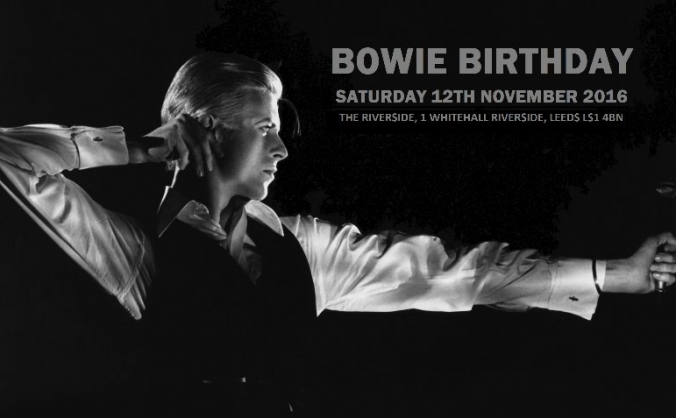 David Bowie Birthday Party 2016!!