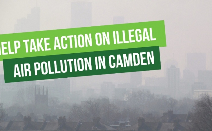 Take action on illegal air pollution in Camden
