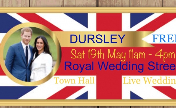 Royal Wedding Street Party Dursley