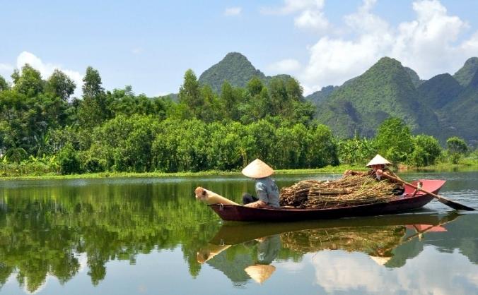 Vietnam and Cambodia