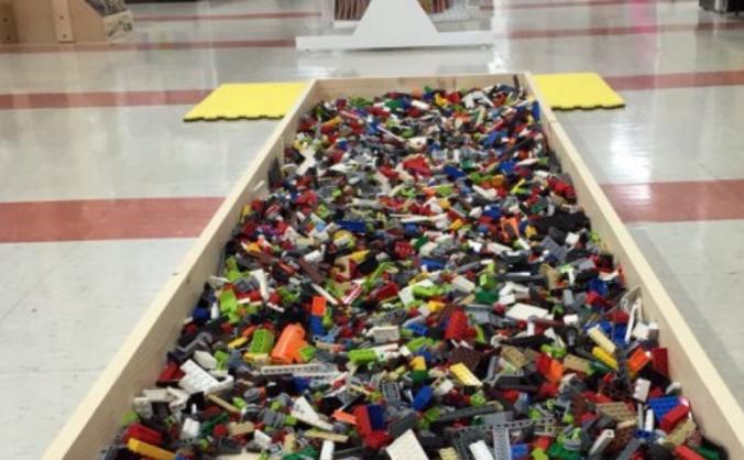 Lego Fire Walk!