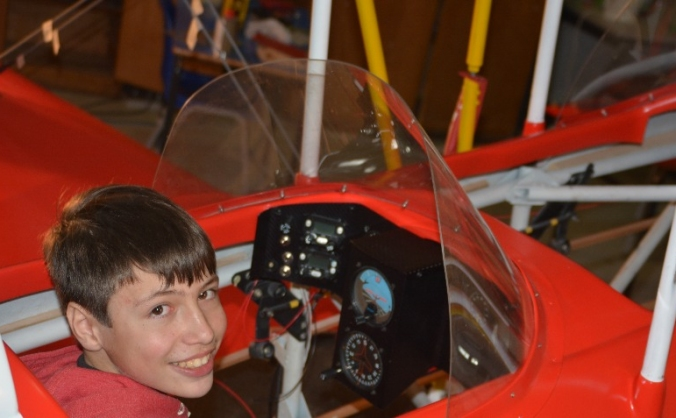 Youngest Solo Circumnavigation in Light Aircraft.