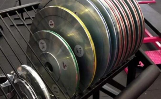 Kustom Kit Calibrated Powerlifting Plates (445kg)