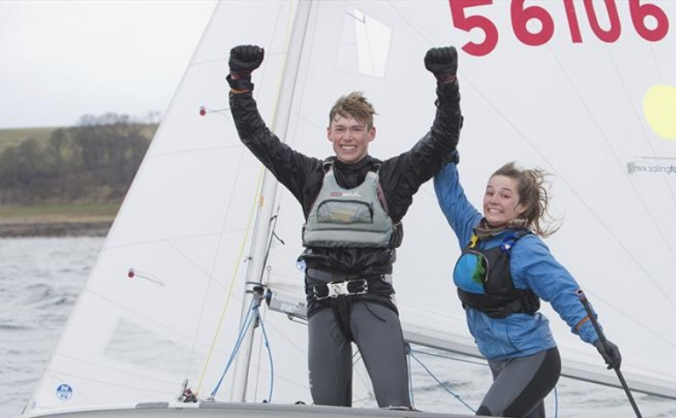 420 dinghy European and World Championships