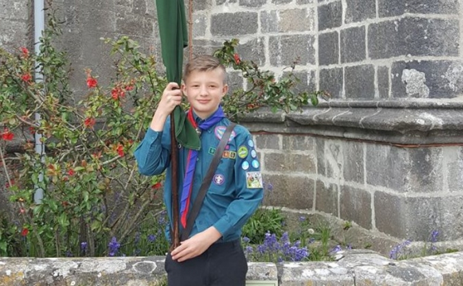 help Nathan get to the world scout jamboree 2019