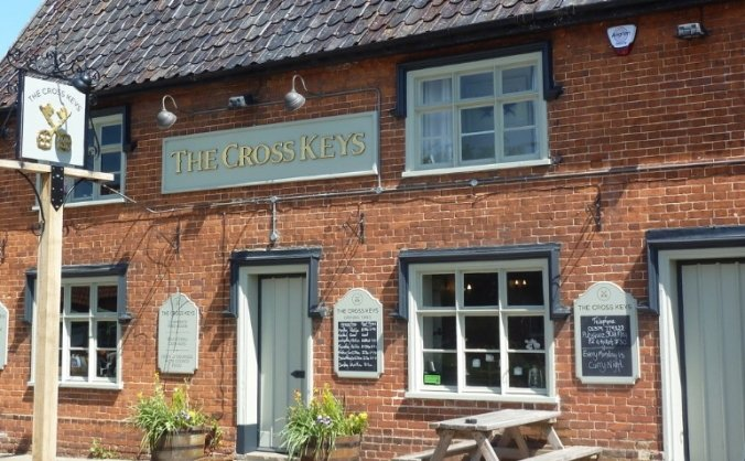 Create Family Friendly Garden at Cross Keys pub