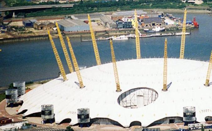 O2 Dome Mega Climb