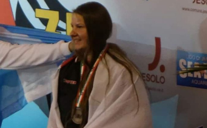 Representing England at the European Championships