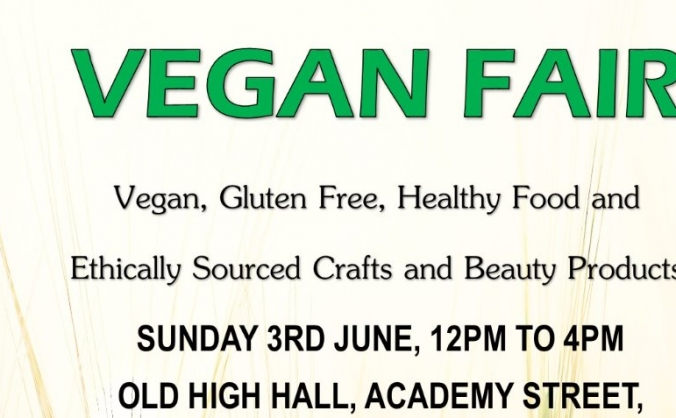 Vegan and Ethical Food and Craft Fair Promotion
