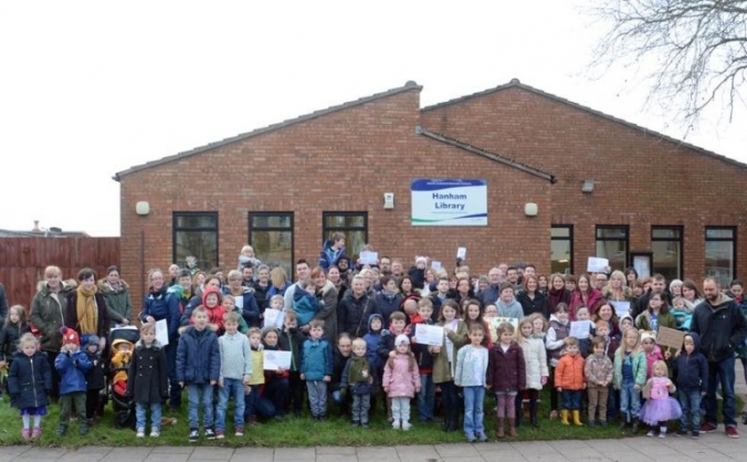 Save Hanham Library.
