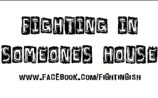 Fighting In Someones House EP Recording
