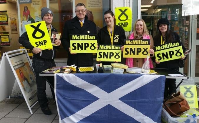 Stuart McMillan SNP for Greenock & Inverclyde
