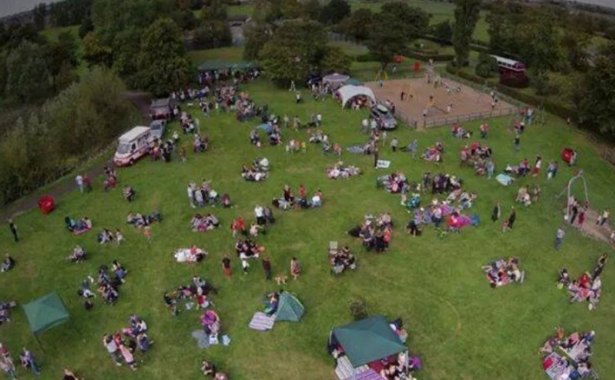 Party in the Park, Leyland Park, Hindley