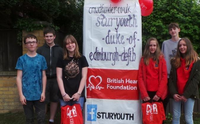 SturYouth-Duke of Edinburgh-Defib