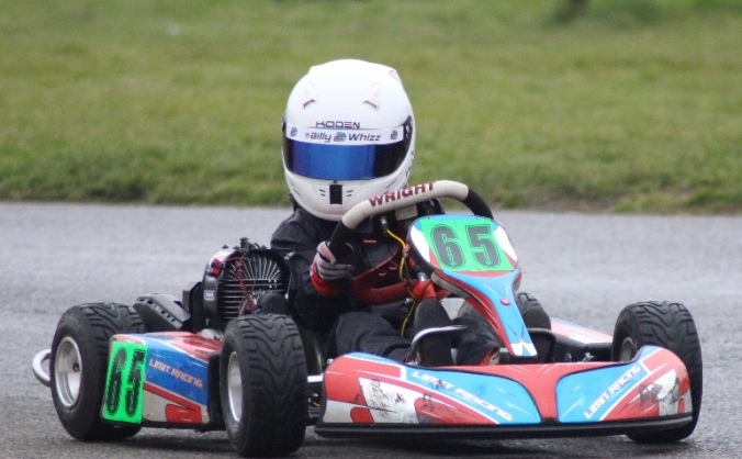 Raising sponsorship for a young racer
