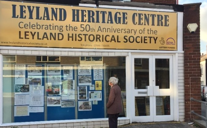 Leyland Heritage Centre - The Next Step