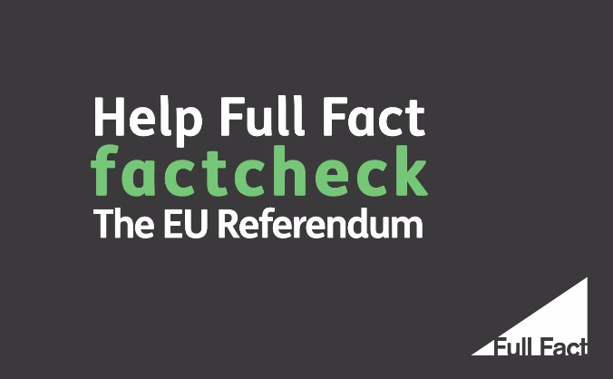 The EU Referendum, factchecked.