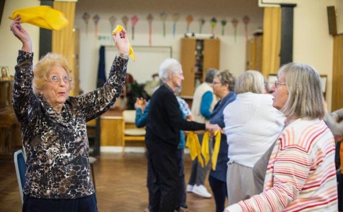 Best Foot Forward - joyful dance for older people