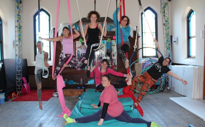 Anvesaka Yoga & Aerial's First Studio!