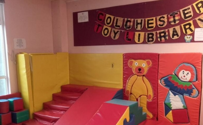 Fundraising for Colchester Toy Library