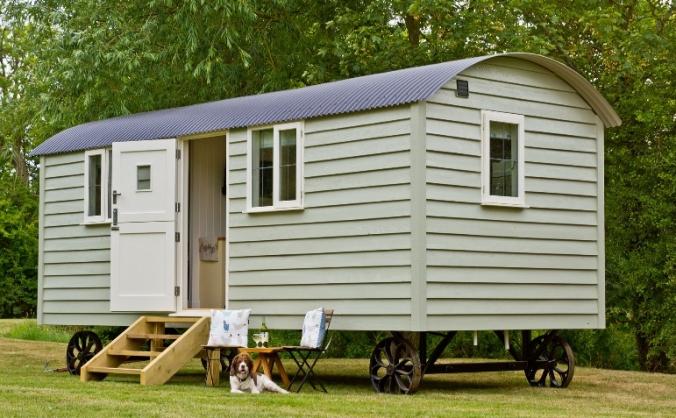 Starlight Shepherd Hut