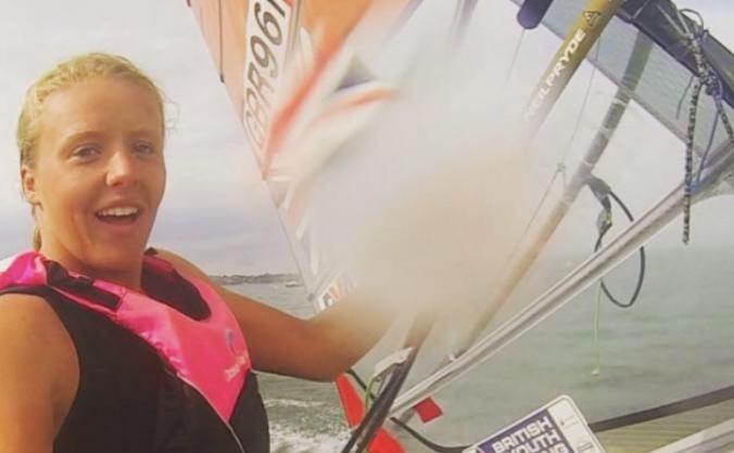 Emma Wilson Windsurfing