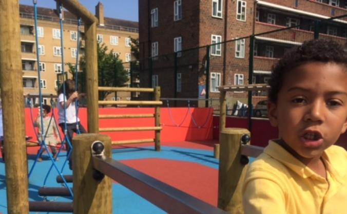 Jubilee Primary School - New Playground!