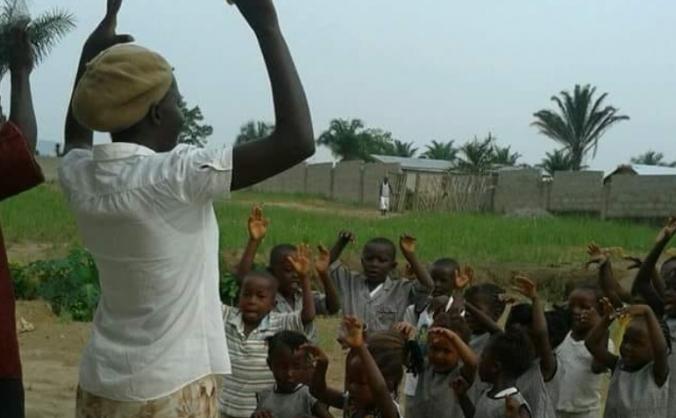 Building a school in Sierra Leone