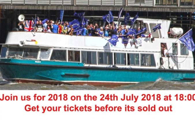 No10Vigil Summer Boat Party  2018