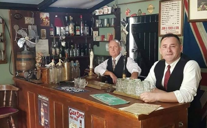 Wheat Sheaf 1940s Bar Needs Your help!