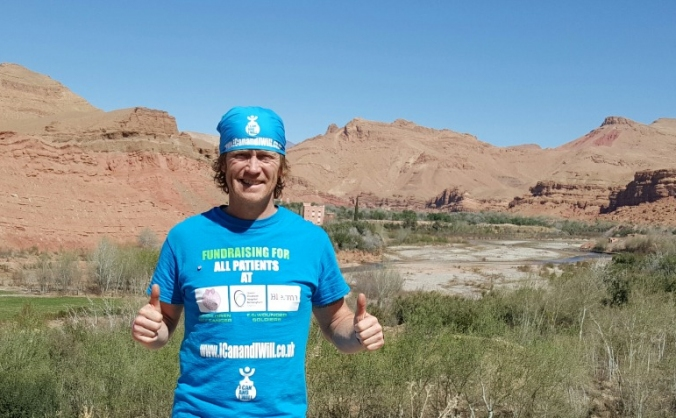 Gavin to run double MDS 300miles in Sahara Desert