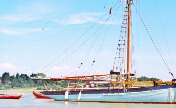 Pembeth Of Clyde Surviving WW1 Vessel