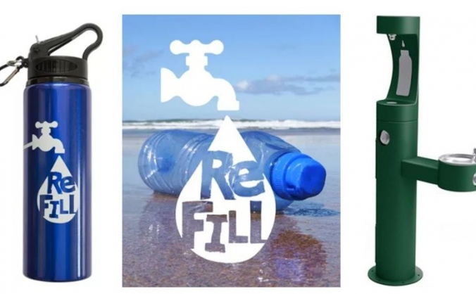 ReFILL Water Station in The Triangle Bude