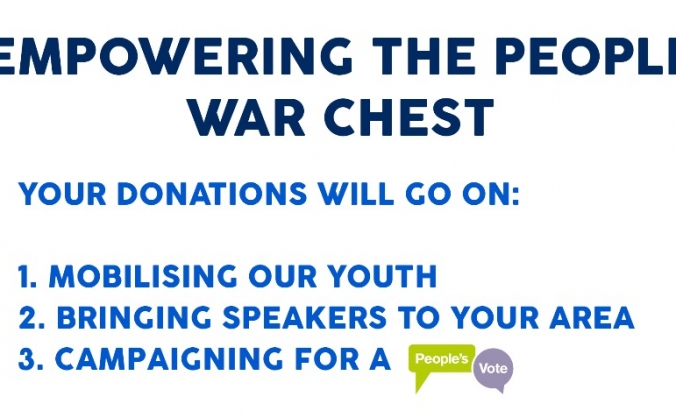 Empowering the People War Chest