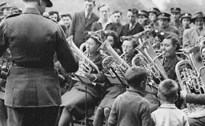 Women in Brass and Military Bands, c. 1940-1960