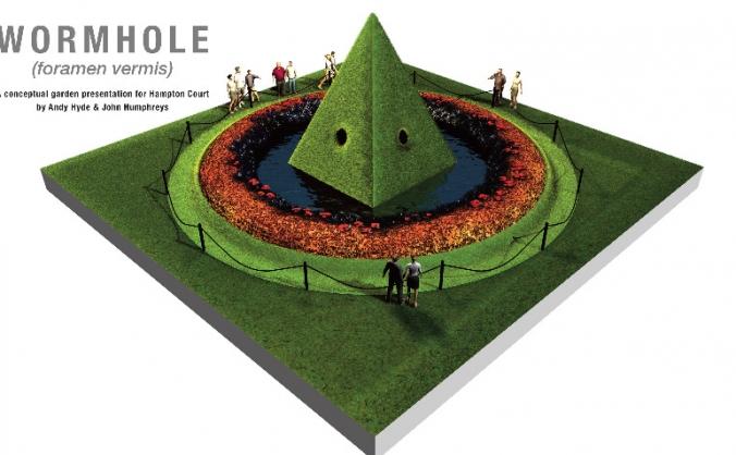 Wormhole garden at Hampton Court Flower Show
