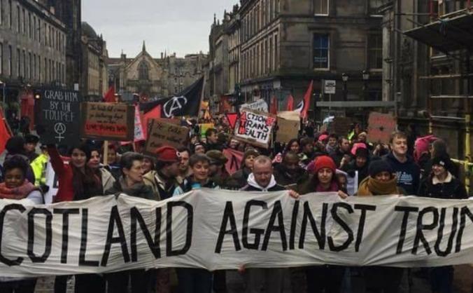 Scotland Against Trump