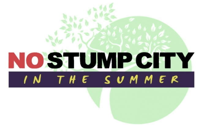 NO STUMP CITY Kick-starter