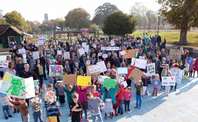 Save Ruskin Park Paddling Pool