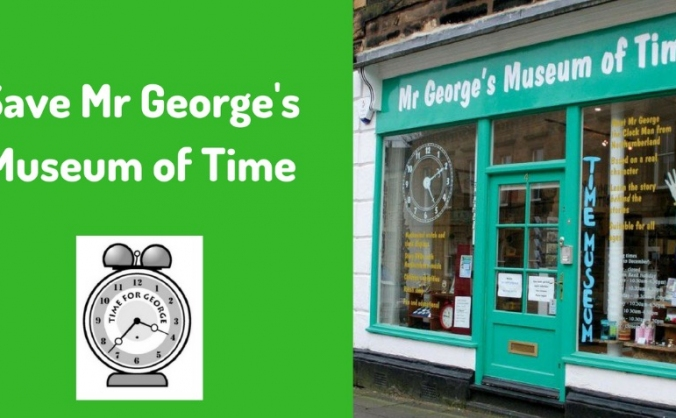 Save Mr George's Museum of Time
