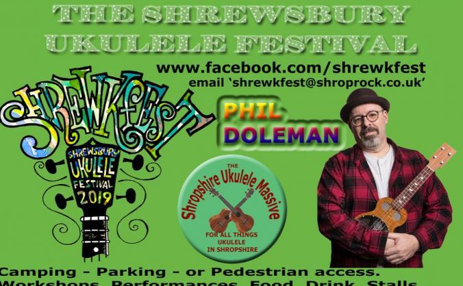 Shrewkfest - The Shrewsbury Ukulele Festival