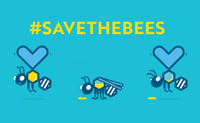 Take #savethebees to the streets