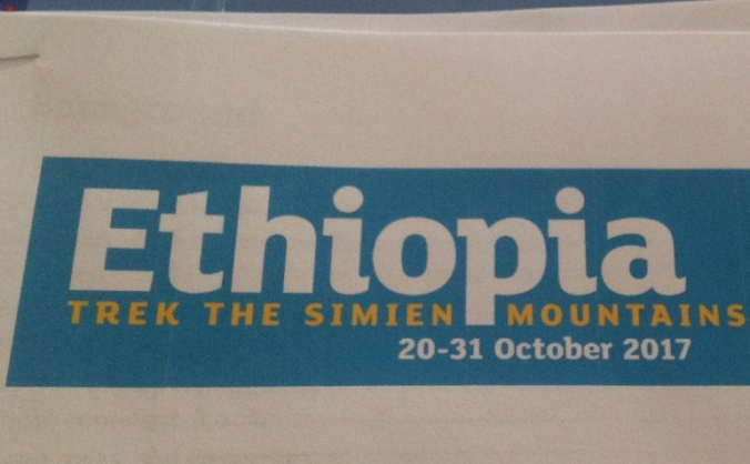 Laura's Ethiopia Trek for Charity