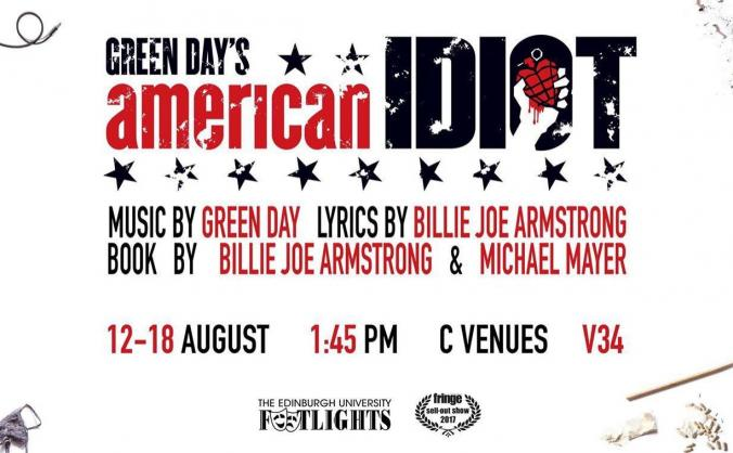 Get American Idiot to the Fringe Festival 2018
