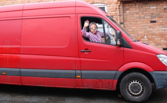 A new tour van for mask pioneers Vamos Theatre