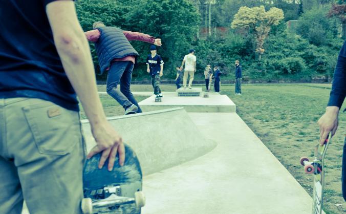 Get Nottingham Skaters to Skate Malmo Street 2018